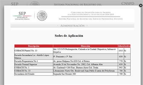 consulta de resultados de permanencia 2015 2016 resultados de examen de permanencia docente