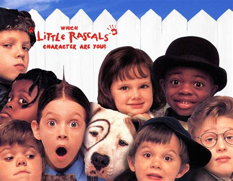 the rascals which rascals character are you quiz zimbio