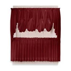 Sheer Burgundy Curtains Buy Burgundy Sheer Curtains From Bed Bath Beyond