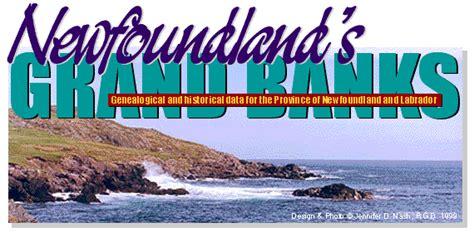 Newfoundland Birth Records 1800s Newfoundland Grand Banks Genealogy Site Featuring The Canadian Province Of Newfoundland