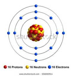 Chromium Protons Neutrons Electrons 3d Render Atom Structure Calcium Isolated Stock