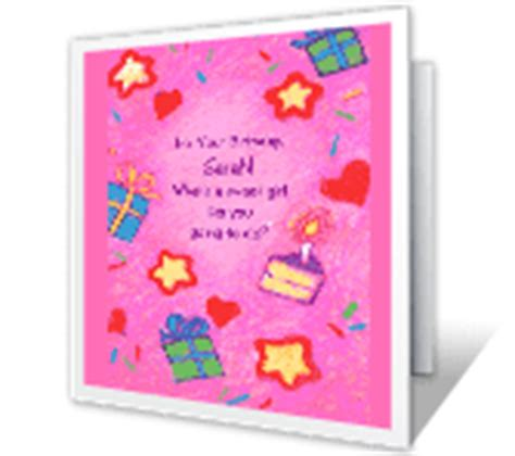 quot sweet surprises quot birthday printable card blue birthday cards for her blue mountain