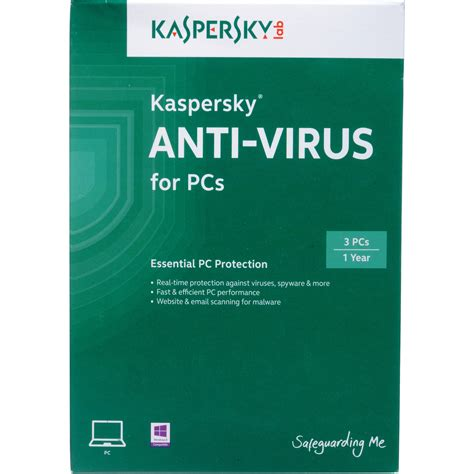 Antivirus Kaspersky 3 User kaspersky anti virus 2014 3 one year user licenses kl1154abcfs