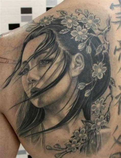 70 new styles geisha tattoos designs for back