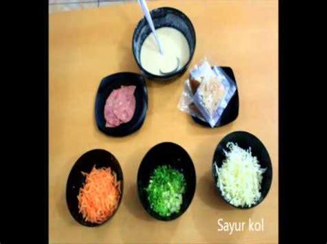 cara membuat okonomiyaki youtube cara membuat takoyaki dan okonomiyaki youtube