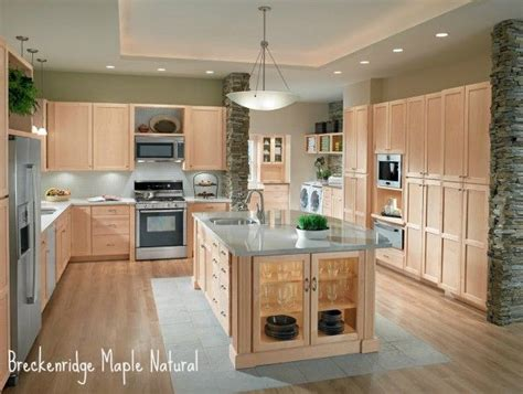 Kitchens With Light Maple Cabinets Light Maple Cabinets Grey Floor Yahoo Image Search Results Kitchen Ideas