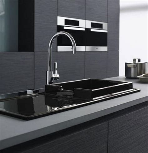 grey kitchen sink 10 modern and functional kitchen sinks rilane