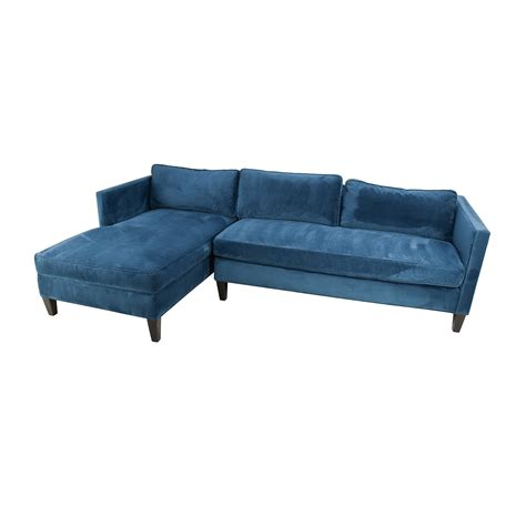 west elm sofa bed 67 off west elm west elm dunham sectional sofa sofas
