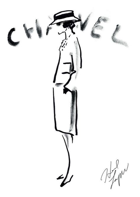 Sketches Channel inside chanel the jacket