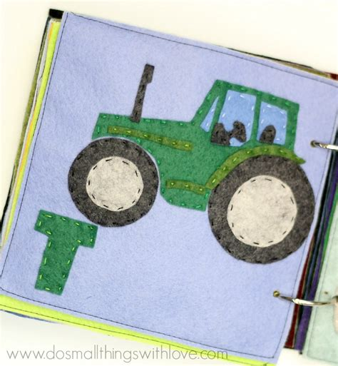felt tractor pattern t is for tractor felt alphabet book pattern and giveaway