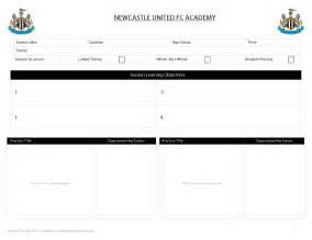 Session Plan Template by Customisation Services Academy Soccer Coach Asc