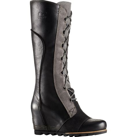 womans wedge boots sorel cate the great wedge boot s backcountry