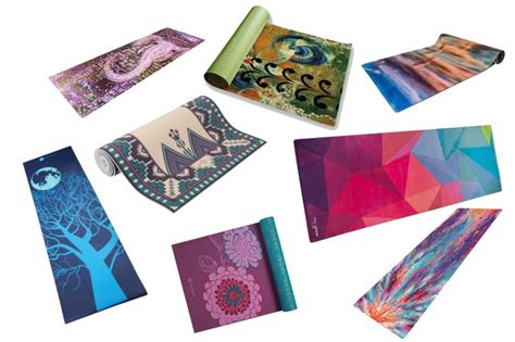 8 cute yoga mats with cool designs