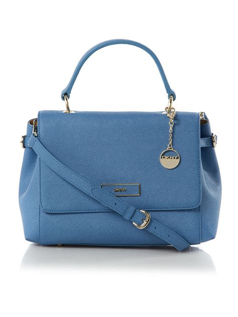 dkny crossbody bag in blue lyst