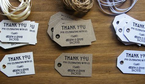 printable kraft tags uk personalised wedding thank you favour tags vintage art
