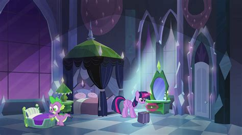 twilight sparkle bedroom image twilight and spike in empire bedroom eg png my