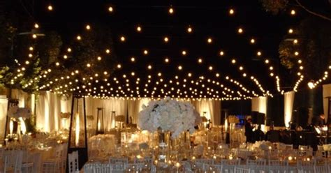 Ordinary Tennis Court Transformed With Italian String Italian String Lighting