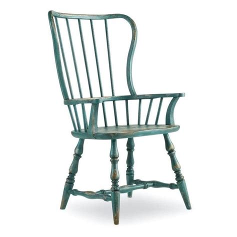 Spindle Dining Chairs Furniture Sanctuary Spindle Arm Dining Chair In Blue 5405 75300
