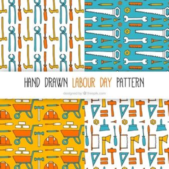 color pattern tool set clothes vectors photos and psd files free download