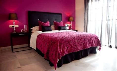 Black And Pink Bedroom by Pink Bedroom With Black Glamorous Dynamic Dramatic