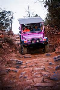 Jeep Tours In Sedona Ramblin Road With Pink Jeep Tour Sedona