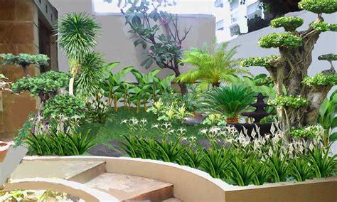 model taman kecil belakang rumah renovasi rumahnet