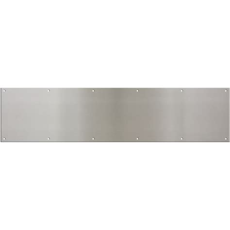 Exterior Door Kick Plate with Shop National 34 In X 8 In Entry Door Kick Plate At Lowes