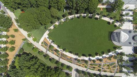 Myriad Gardens by Myriad Botanical Gardens Ojb Landscape Architecture
