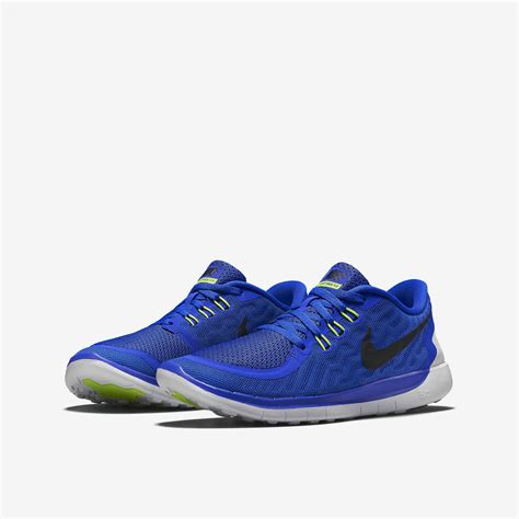 Nike Running 27 Free 5 0 Doff nike boys free 5 0 running shoes royal
