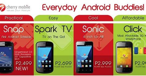 themes for android cherry mobile spark tv cherry mobile snap sonic spark tv click price and specs