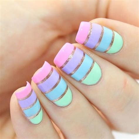 Easy Nail Design Ideas by 23 Nail Designs To Try In 2017 Easy Nail
