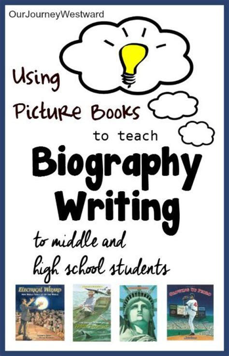 how to write picture books teach students how to write great biographies and