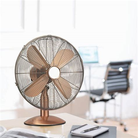 Where To Buy Desk Fans by 10 Inch Chromed Copper Desk Fan Buy At Qd Stores