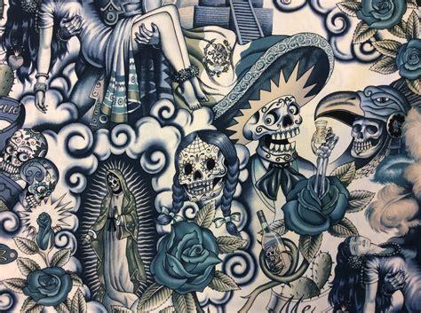 fabric decor frida kahlo fabric decor