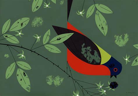 Large Wall Murals modern birds on pinterest charley harper folk art and