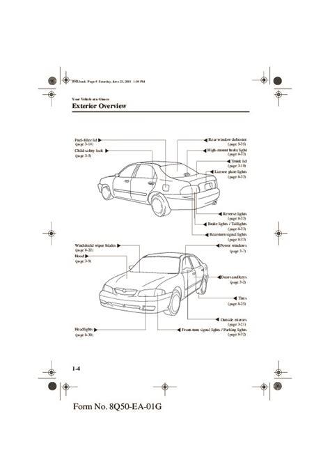 car repair manuals online pdf 2002 mazda 626 seat position control 2002 mazda 626 owners manual