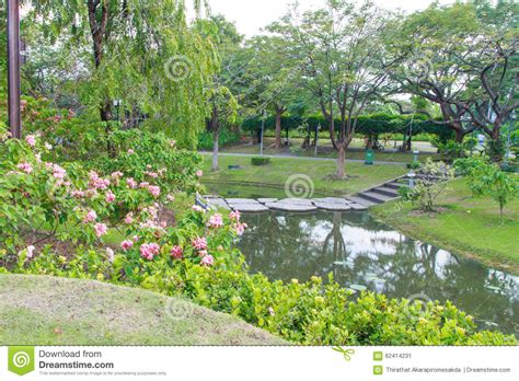 Walkway View Botanical Garden Queen Sirikit Park Stock Sirikit Botanic Garden