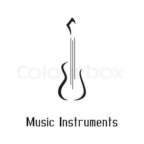 Graphics Design Jobs At Home by Musical Instruments Store Logo With Guitar Vector