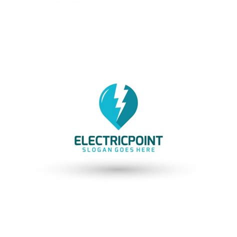 electric company logo template vector free download