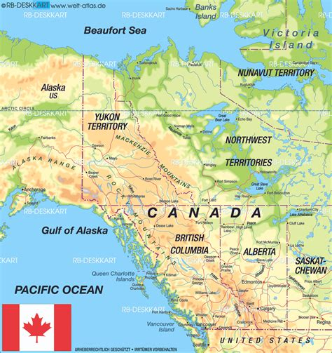 map of canada west map of canada west region in canada welt atlas de