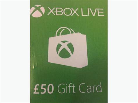 Xbox 360 50 Gift Card - 163 50 xbox gift card walsall walsall