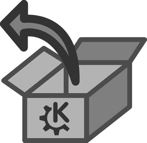 open package clip art  clkercom vector clip art