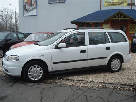 1998 Opel Astra G Caravan Pictures Information And