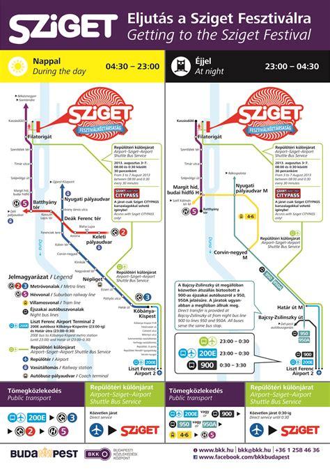 bkk boat budapest timetable take bkk s public transport services to the sziget