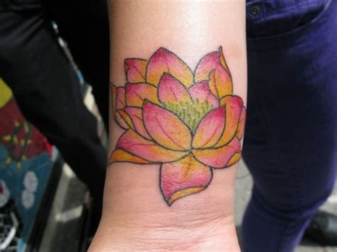 lotus tattoo wrist 79 attractive lotus flower wrist tattoos design