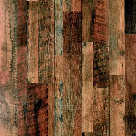 shop pergo max 7 48 in w x 3 93 ft l river road oak embossed laminate wood planks at lowes com