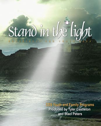 stand in the light efy 2004 stand in the light songbook sheet