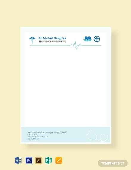 business letterhead format word psd apple pages