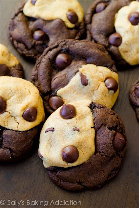 Keecake Chocochip Soft Baked Cookies soft baked peanut butter chocolate swirl cookies recipe sallys baking addiction chocolate