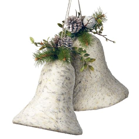 Tree Decorations Bells by National Tree Company 10 In Bells Decoration